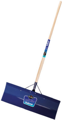 "Garant YSP30L Yukon Snow Pusher, Blue Steel Blade, 12"" x 30"""