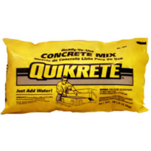 Quikrete® 110110 Ready-To-Use Concrete Mix, 10 Lbs