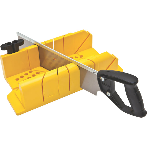 Stanley 20-600 Clamping Miter Box with Back Saw, 14""