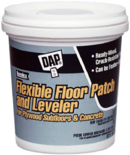 Dap® 59184 Ready To Use Flexible Floor Patch and Leveler, 1 Qt