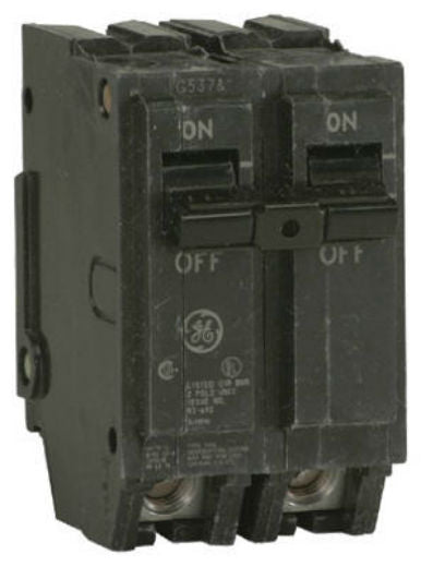 GE THQL2115  Double Pole Breaker, 15A, 240V