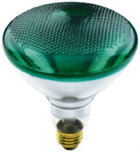 Westpointe 70893 Flood Beam 100BR38/G Reflector Light Bulb, 100W, 120V, Green