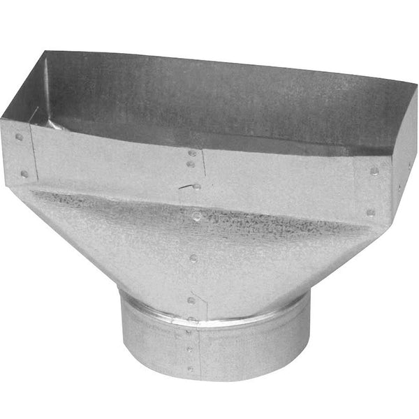"Imperial GV0683-A Galvanized Universal Register Boot, 30-Gauge, 3-1/4"" x 10""-4"""