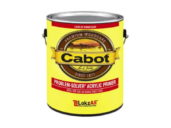 Cabot® 8022-07 Problem-Solver® Acrylic Primer with LokzAll™ Technology, 1 Gallon