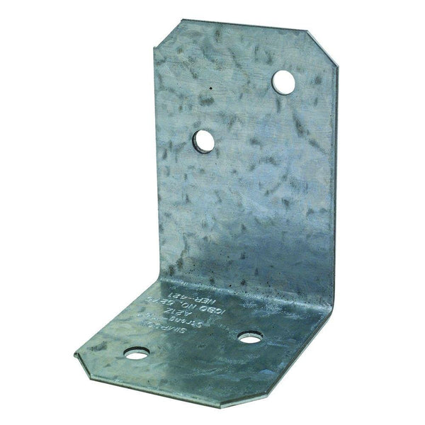Simpson Strong-Tie A21Z Galvanized Steel Angle Z-Max, 18-Gauge