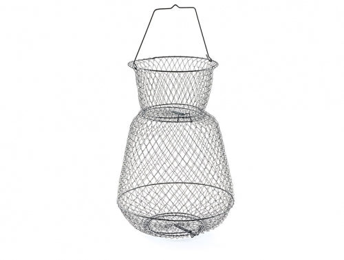 "South Bend® B-666 Round Wire Fish Basket, 13"" Diameter x 18"" Depth"