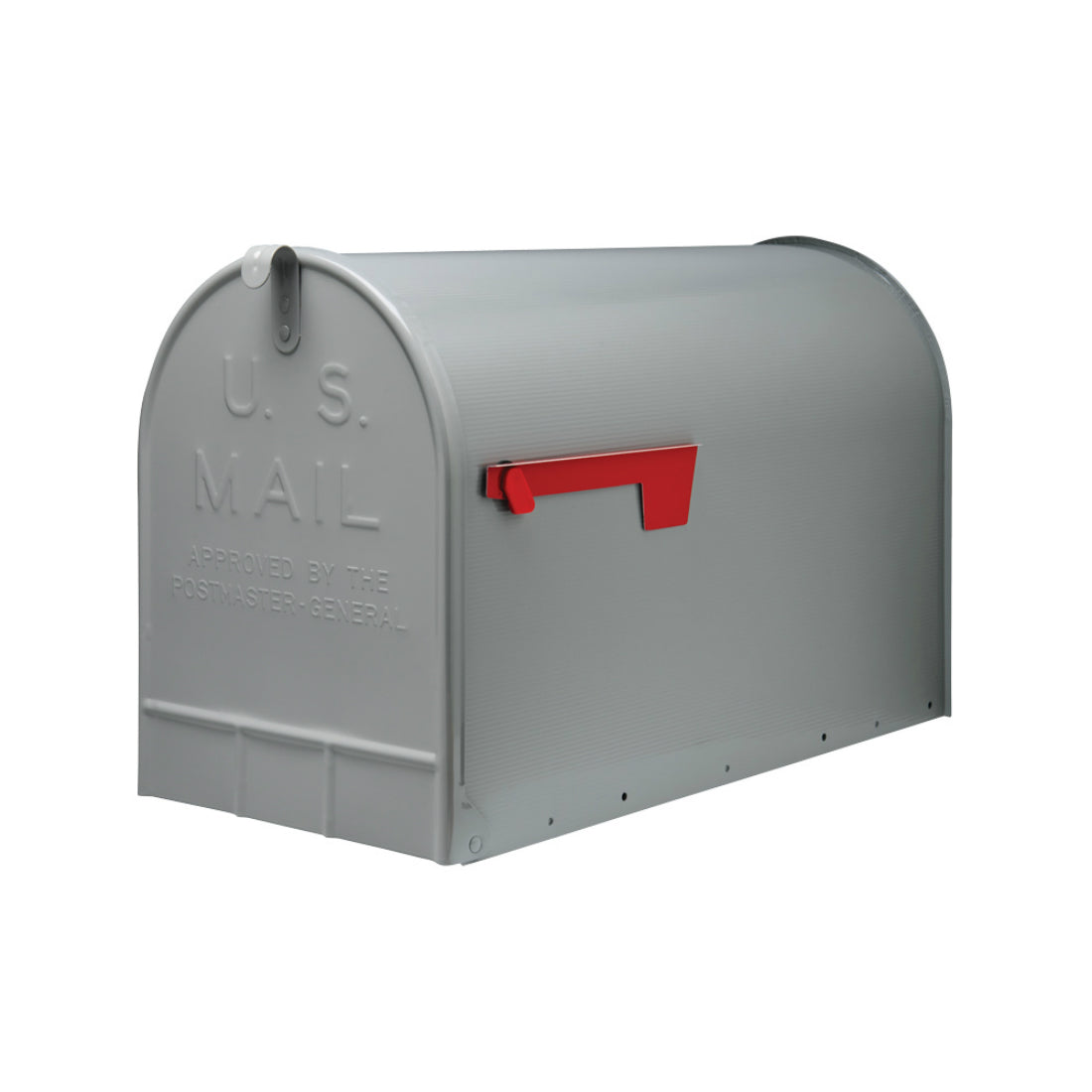 Gibraltar ST200000 Jumbo Size Mailbox, Silver Gray
