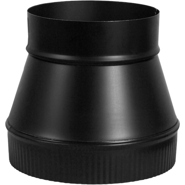 "Imperial BM0058 Flue Increaser, 24 Gauge, 4"" x 6"", Black"
