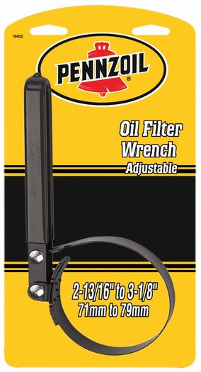 Custom Accessories 19402 Pennzoil® Small Strap Adjustable Oil Filter Wrench