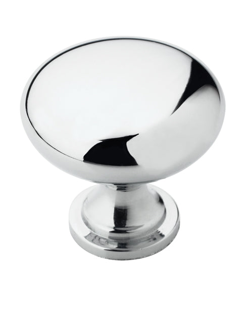 Amerock BP53005-26 Allison Traditional Round Knob, Polished Chrome, 1-1/4""