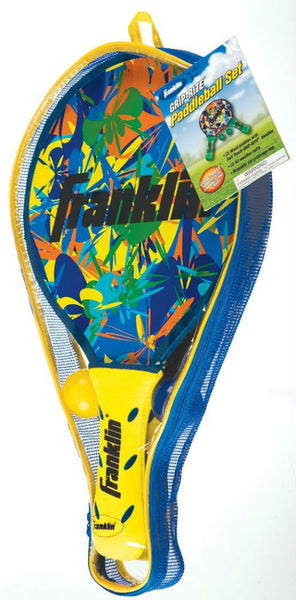 Franklin 3323S1/01 Grip-Rite Paddleball Set, Assorted Colors