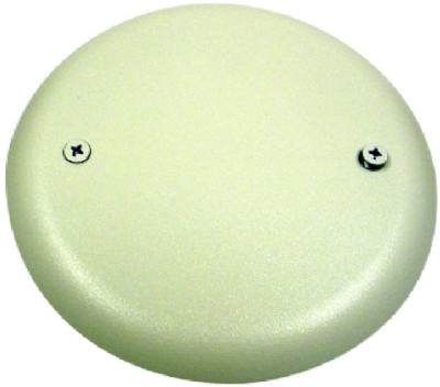 Carlon CPC4WH Round Ceiling Box Cover, White
