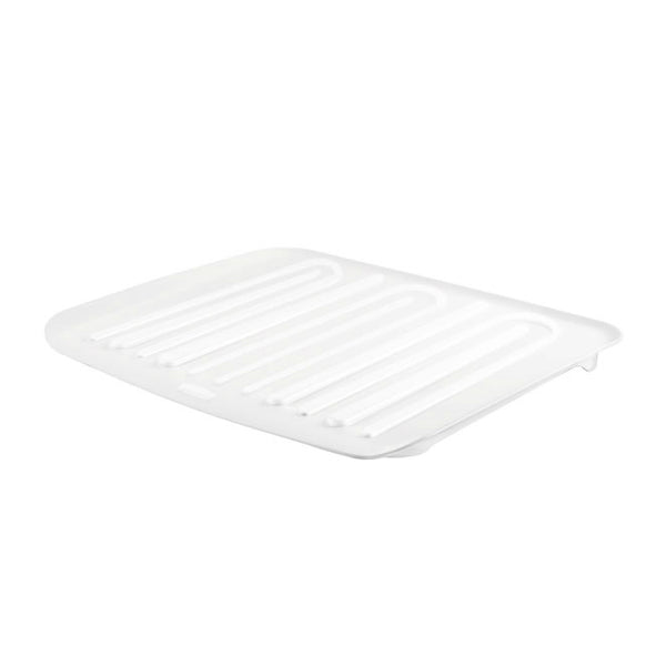 Rubbermaid® 1180-MA-CLR Microban® Antimicrobial Dish Drain Board, Small, Clear