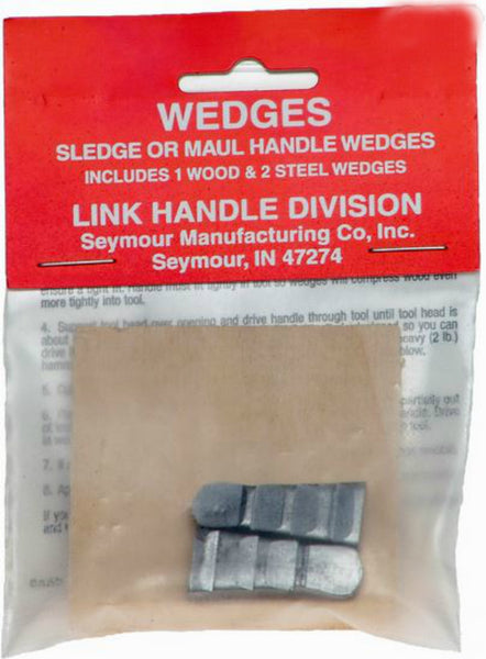 Link Handles® 64133 Sledge & Maul Handle Wedges, 3-Pack