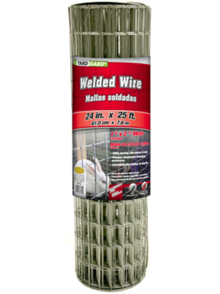 "YardGard® 309320A Galvanized Welded Wire Fence, 16-Gauge, 24"" x 25'"