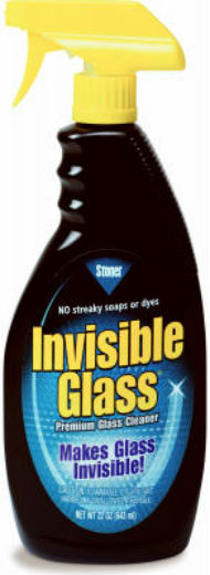 Stoner 92166 Invisible Glass Window/Windshield & Mirror Cleaner, 22 Oz
