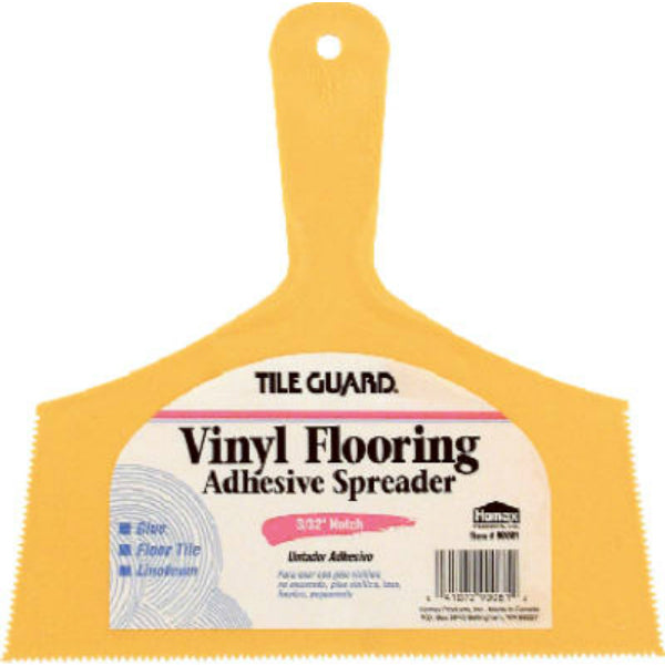 Tile Guard® 00081 Adhesive Spreader for Vinyl Flooring & Floor Tile, 8""