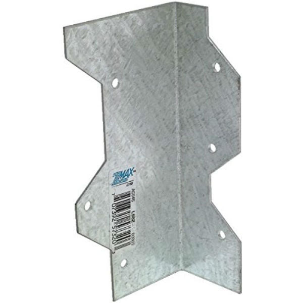 Simpson Strong-Tie L50Z Galvanized Steel L-Angle w/Z-Max Coating, 16 Gauge, 5""