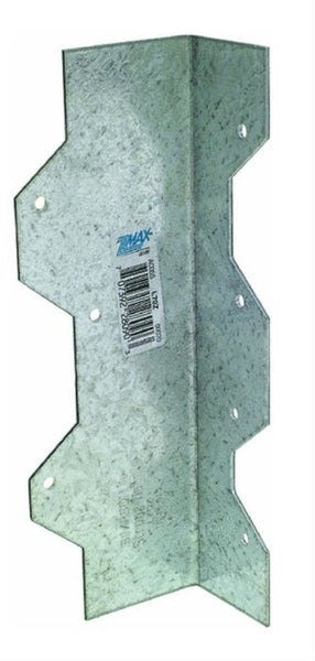 Simpson Strong-Tie L70Z Galvanized Steel L-Angle Z-Max, 16 Gauge, 7""