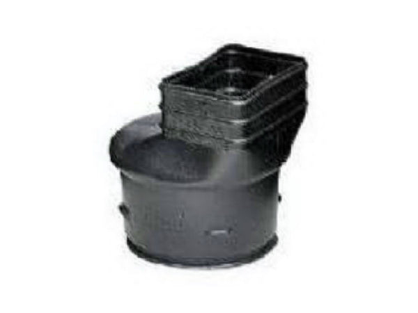 "ADS® 0465AA Downspout Adapter, 3"" x 4-1/4"""