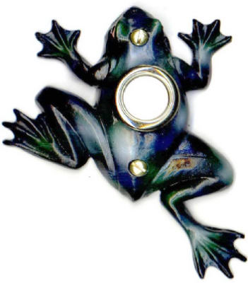Frog Chime Button 1/2""