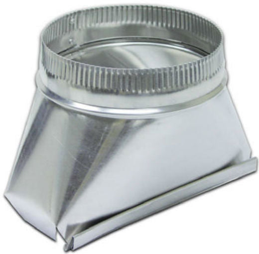 Lambro 122IND Round Aluminum Transition Fitting, 6""