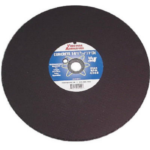"Virginia Abrasives™ 424-10612 Concrete Masonry Cutoff Wheel, 12"" x 1/8"" x 1"""