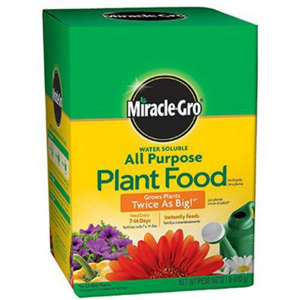 Miracle-Gro® 2000992 Water Soluble All Purpose Plant Food, 8 Oz, 24-8-16