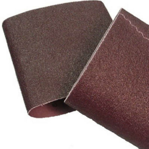 "Virginia Abrasives™ 018-81980 Cloth Floor Sanding Belt, 8"" x 19"", 80-Grit"