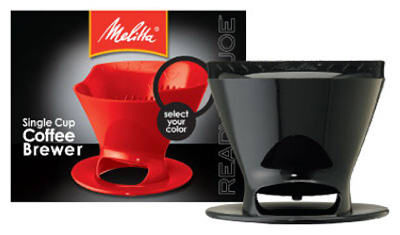 Melitta 64007 Ready Set Joe #2 Filter Cone Basket, Assorted Colors
