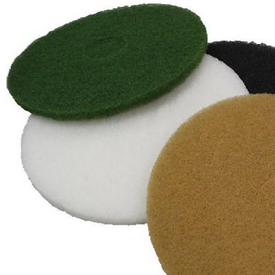 "Virginia Abrasives™ 416-25207 Thin Nylon Pad, 1/4"" x 20"", White"