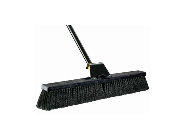 Quickie® BULLDOZER® 00633 Soft Sweep Pushbroom, 24""