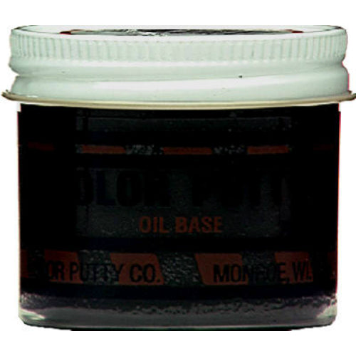 Color Putty® 134 Oil Based Wood Filler Putty, Ebony, 3.68 Oz