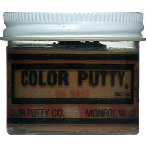Color Putty® 136 Oil Based Wood Filler Putty, Nutmeg, 3.68 Oz