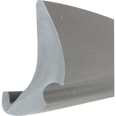 Slide-Co P-7777 Flexible Vinyl Push-in Bead Glazing Spline, Gray, 200'