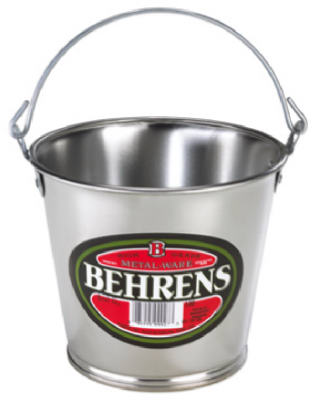 Behrens 100GS Galvanized Steel Pail, 55 Oz