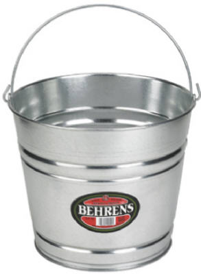 Behrens 1214GS Galvanized Steel Water Pail, 14 Qt