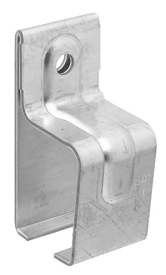 National Hardware® N104-349 Single Box Rail Brackets with Lags, Galvanized