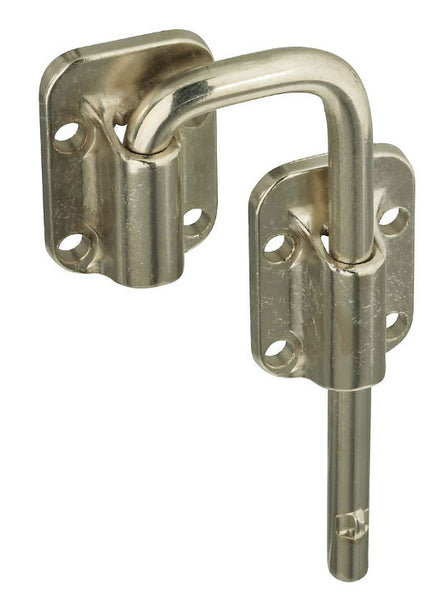 "National Hardware® N238-972 Sliding Door Latch, 1-1/2"", Nickel"