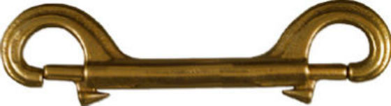 "National Hardware® N223-230 Double Bolt Snap, 4-1/2"", Solid Bronze"