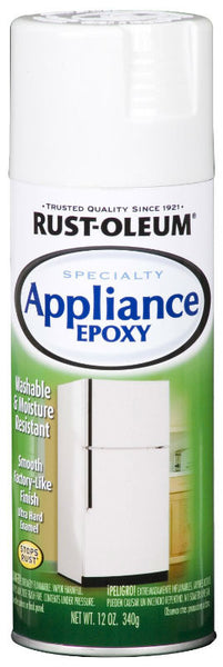 Rust-Oleum® 7881-830 Specialty Appliance Enamel Epoxy, 12 Oz, White