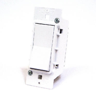 White Single Electrical Switch