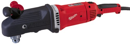 "Milwaukee Electric 1680-21 Right Angle Drill, 1/2"", 13 Amp"