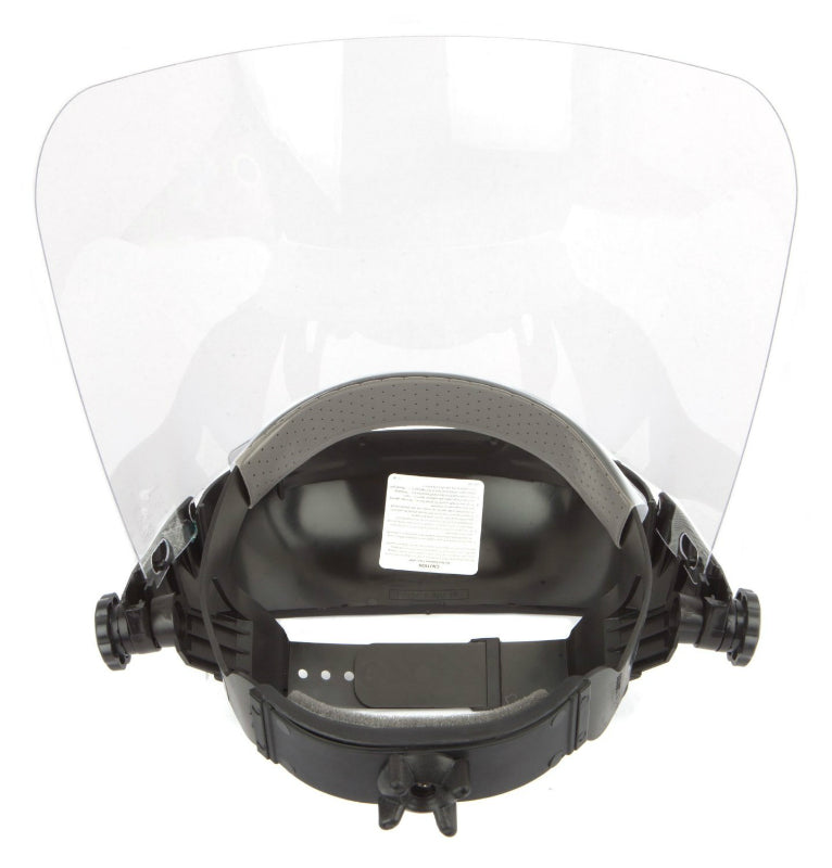 Forney 58605 Lightweight Full Face Grinding Shield With Ratchet Headgear, Clear