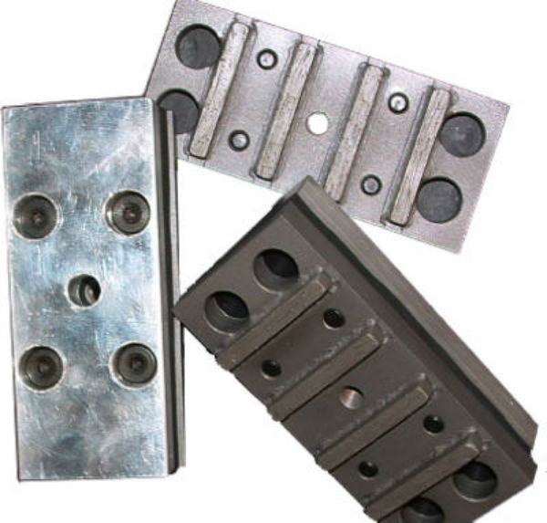 "Virginia Abrasives™ 425-05236 Epoxy & Mortar, Diamond Grinding Block, 2"" x 2"" x 4"""