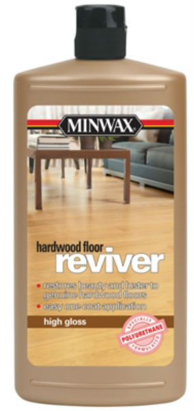 Minwax® 609504444 High Gloss Hardwood Floor Reviver, 1-Qt