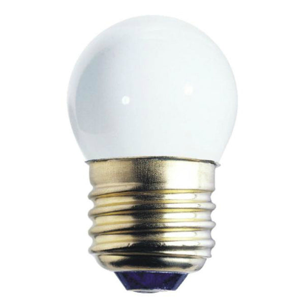 Westinghouse 04065 Standard Base S11 Indicator Light Bulb, 7.5W, White