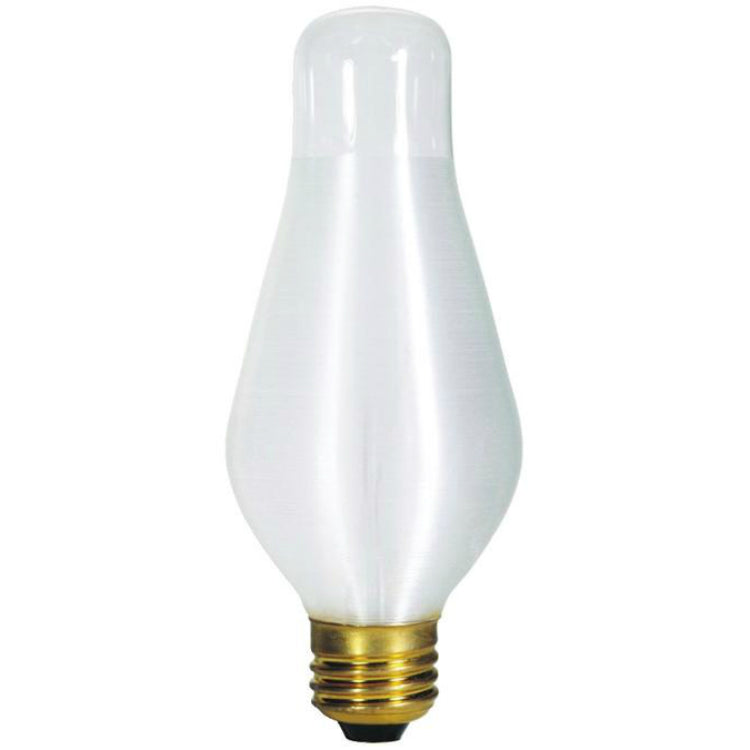 Westinghouse 03336 Glowescent H19 Chimney Shape Bulb w/Medium Base, 75W, White