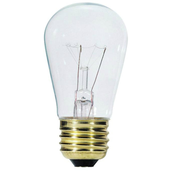 Westinghouse 03540 Standard Base S14 Incandescent Sign Light Bulb, 11W, Clear