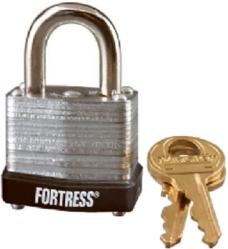 "Master Lock 1807KAP150 Laminated Padlock with 5/8"" Shakle, 1-1/8"" Wide"